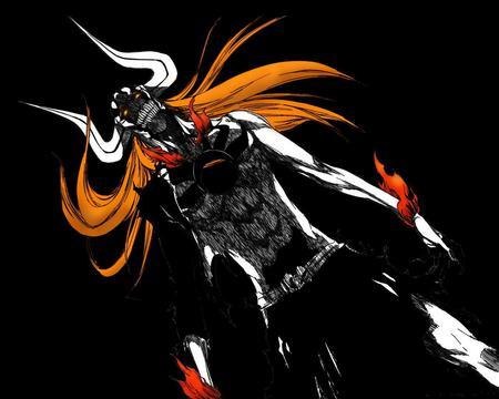 Ichigo Full Hollow Bleach Anime Background Wallpapers On Desktop