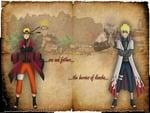 Naruto and Yondaime
