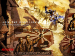 "Red Faction: Guerrilla - ""Earth Supports Mars"" Wallpaper"