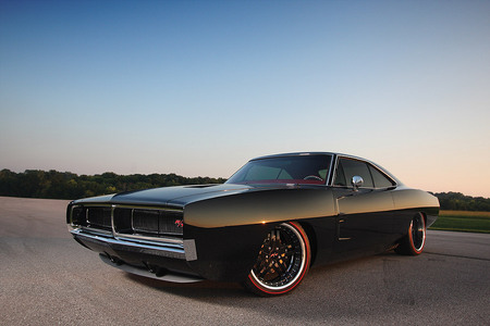 Custom Black Charger Muscle Cars Wallpapers And Images Desktop