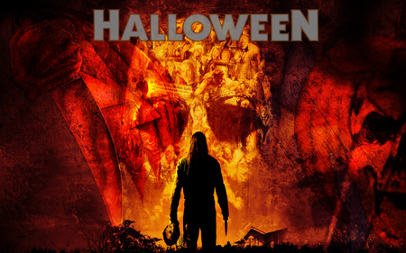 Halloween Michael Myers (WDS) - michael myers, horror, movie, wds, fantasy, widescreen, halloween