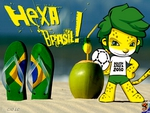 Brasil Hexa world cup 2010