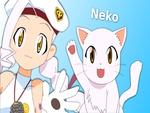 Keroro Gunso (Sgt. Frog) Giroro's Cat (Neko)