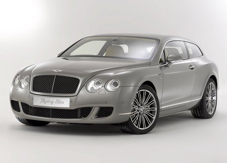 Bentley Continental Flying Star - bently, car