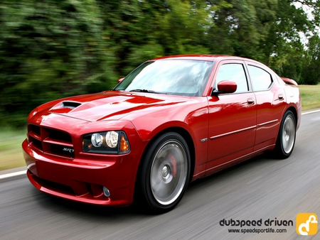 Dodge Charger - charger, red, dodge