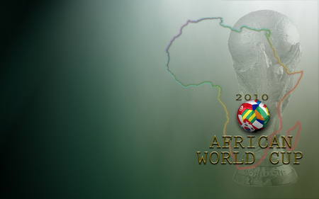 AFRICAN WORLD CUP - rainbow nation, jules rimet trophy, african, football, world cup