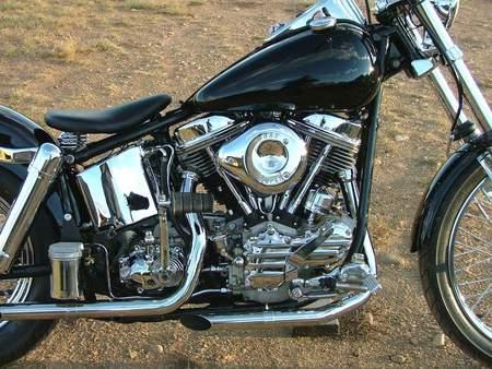 1963 Harley Davidson FLH panhead - panhead, classic, motorcycle, harley