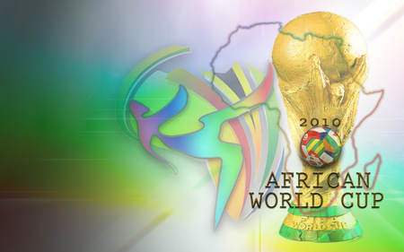 AFRICAN WORLD CUP 2010 - jules rimet trophy, football, world cup, african, rainbow nation