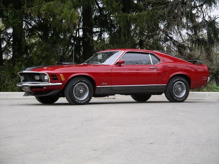 1970 Ford Mustang Mach 1 428 Cobra Jet - mustang, mach 1, classic, ford