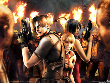 Lethal - gun, leon s kennedy, video game, zombie, resident evil, leon scott kennedy, guns, horror, hair, leon, hero, fire, leon kennedy, fighting, movie, fantasy, adventure, hair style, degeneration, action