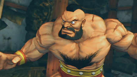 Zangief - Super Street Fighter IV - zangief, street fighter, wrestler