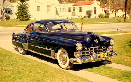 old 50s cadillac - cadillac, gm, 50s, class, car, old