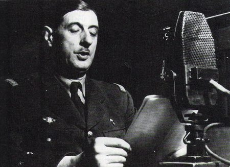 De Gaulle - Appeal of 18 June 1940 - general, war, sadness, black and white, black, president, politique skz, very sad, photography, bbc, not cool, france, sad, de gaulle, popular