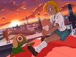 Keroro Gunso (Sgt. Frog) and Angol Mois