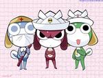 Keroro Gunso (Sgt. Frog) Trio