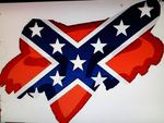 Fox Racing Rebel Flag