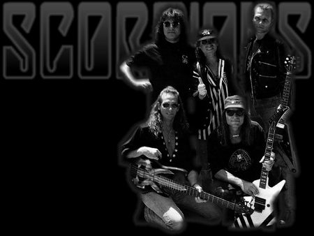 Scorpions - metal, scorpions, music, band