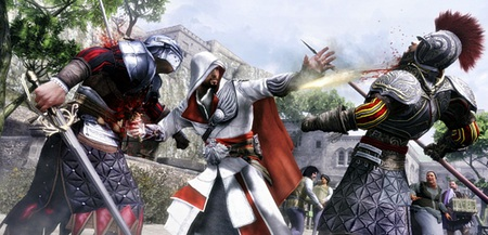 AC Brotherhood - ezio, assassins creed, assassin, brotherhood