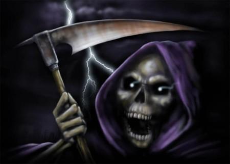 grim_reaper - reaper, skull, death, dark, grim