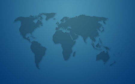 world - map, world, widescreen, blue