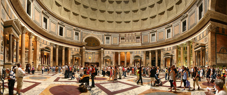 Pantheon - italy, insight, panorama, rome, pantheon