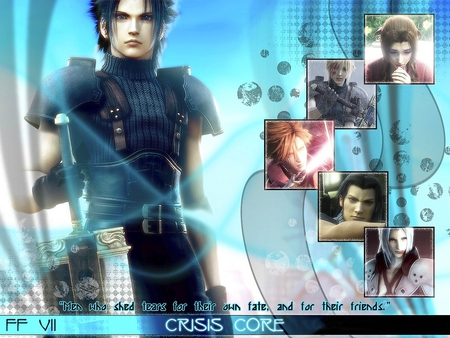 Final.Fantasy.VII.Crisis.Core - cloud, aeris, blue, crisiscore, final, angeal, fantasy, genesis, games, zackfair, sephiroth