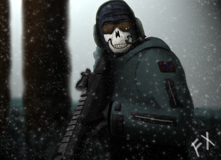Ghost Modern Warfare 2 Other Video Games Background Wallpapers