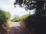 Approaching Glastonbury Tor