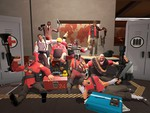 Team Fortress 2 Red Team Pose