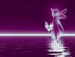 Purple twilight water elf
