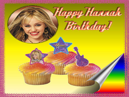 HANNAH MONTANA - movie star, popstar, birthday, sexy