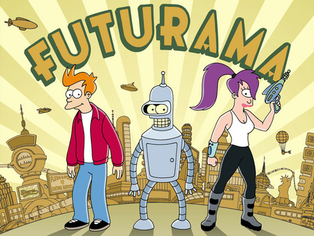 Futurama - scifi, tv, show, cartoon