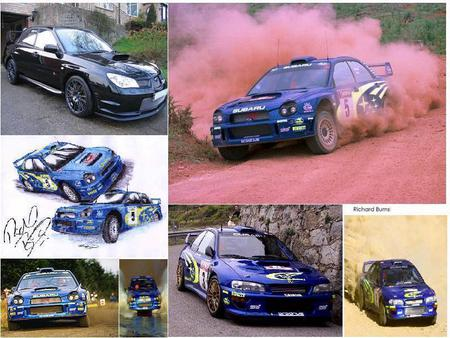 Richard Burns - cars, wrc, richard burns, subaru