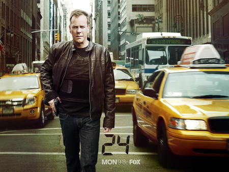 24 Official Wallpaper 3 - fox, jack bauer, taxi, twenty four, tv, 24