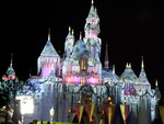 Disneyland Castle, Christmas Time