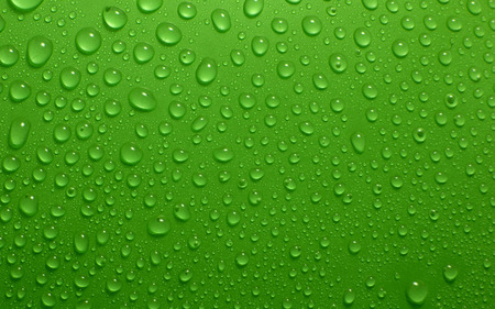 Green water drops - pretty, lovely, drop, clear, beautiful, drops, abstract, sweet, drops of water, photography, nice, water, green, beauty, other