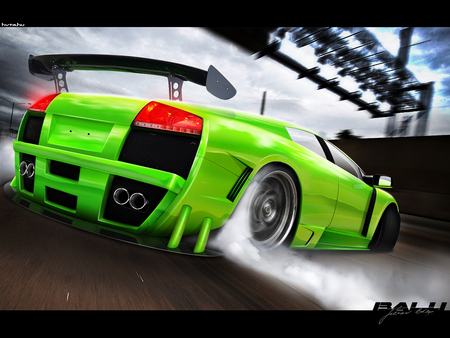 Lamborghini Xtr M Drift Lamborghini Cars Background Wallpapers On Desktop Nexus Image 394752