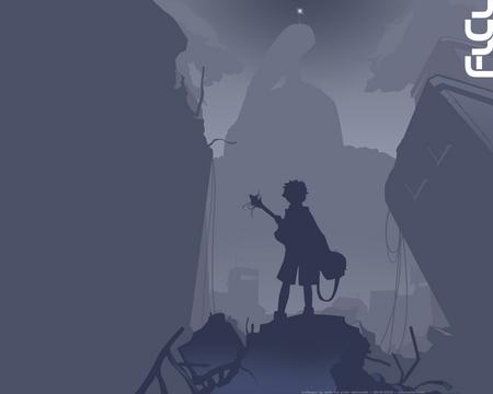 Naota Flcl Flcl Anime Background Wallpapers On Desktop Nexus Image 394929
