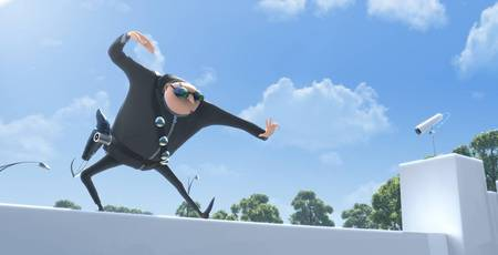 Gru on roof - Movies & Entertainment Background Wallpapers on ...