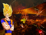 Goku_Awesome Wallpaper - HD1080p