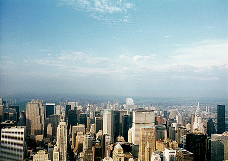 New York City - new york, manhattan, usa, empire state building