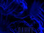 Blue Danny Abstract