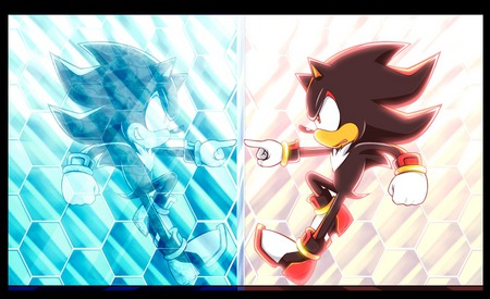 Shadow and Mephiles - shadow, mephiles, sonic x, bad and good