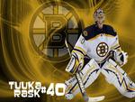 Tuuka Rask Bruins Goalie