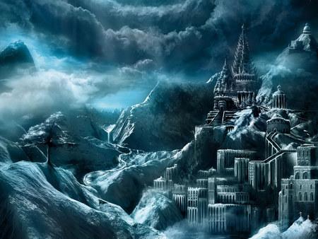 DARK CASTLE Dark Fantasy Castle