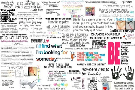 Love Quotes - Collages & Abstract Background Wallpapers on ...