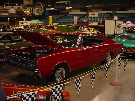 1967 dodge charger - charger, red, dodge, 1967