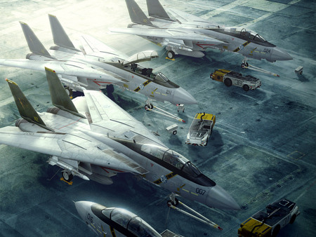 Aircrafts - aircraft, fighter plane, hd, video game, fighters, ace combat, air plane, fast