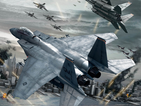 Battle Zone - war, hd, fighter, high, video game, sky, aircraft, fighter plane, battle, air plane, ace combat, fast