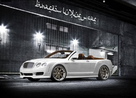 Bentley Continental Spider - bentley convertible, bentley continental, arab cars, kk designs